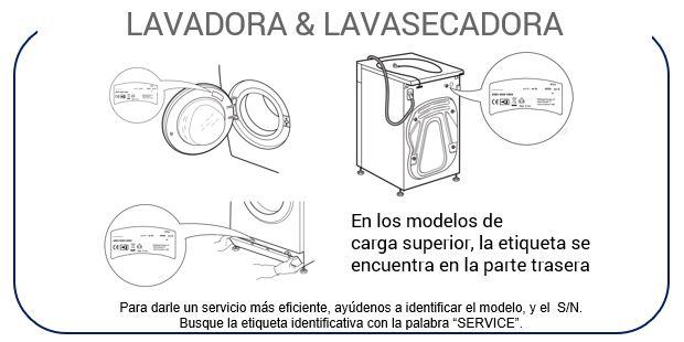Instrucciones Lavadora y Lavasecadora