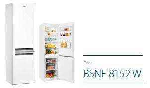 BSNF 8152 W Supreme No Frost