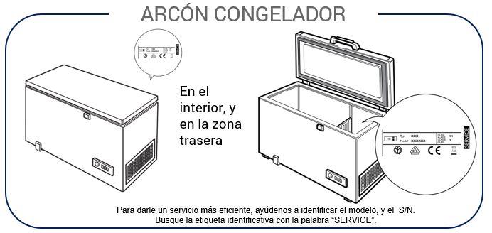 Instrucciones Arcón Congelador